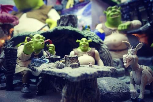 Several Shreks, Penang Toy Museum