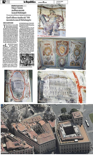"""ROMA ARCHEOLOGIA: Il Foro di Traiano - Cantiere di scavo del Palazzo Valentini (2006-10): Maria C. Cola, """"Palazzo Valentini a Roma : La committenza Zambeccari, Boncompagni, Bonelli tra '500 e '700,"""" Roma, Gangemi (2010), pp. 256. by Martin G. Conde"""