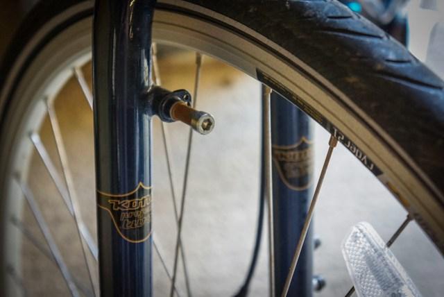Kona Sutra 2012: Front fork detail