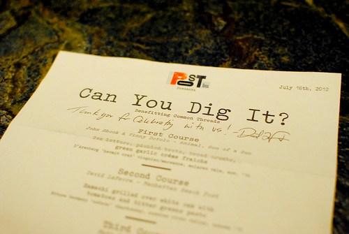 can you dig it menu