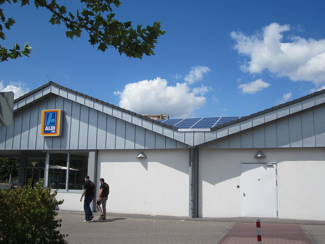 Solar powered supermarket