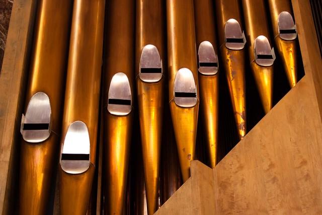 Helsinki Temppeliaukio Organ Pipes