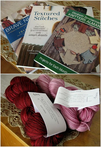 new books and yarns