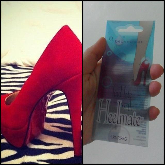 high heel jel