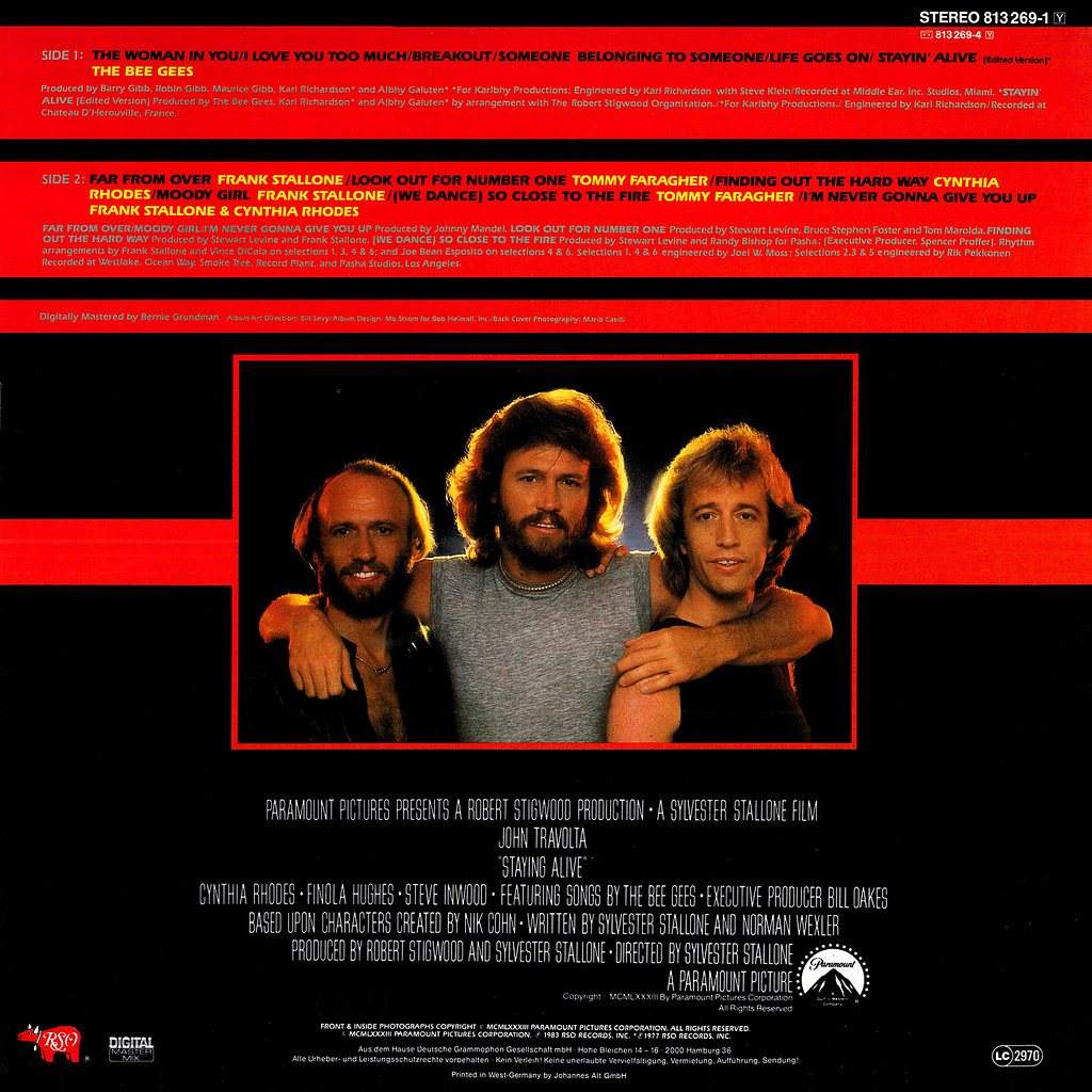 The Bee Gees Lp Cover Art