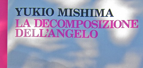 Yukio Mishima, La decomposizione dell'angelo. Feltrinelli 2012. Art director: Cristiano Guerri. In cop.: ©Araki. Copertina (part.), 9