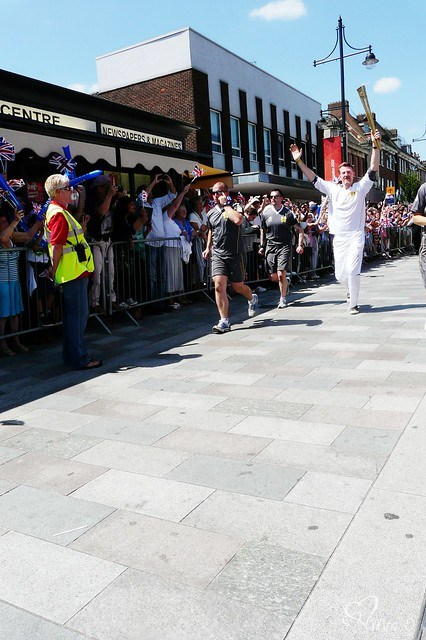 The Olympic Torch Relay, Romford at The Purple Pumpkin Blog