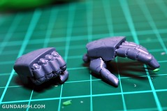 1-100 Kshatriya Neograde Version Colored Cast Resin Kit Straight Build Review (47)