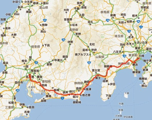 Route of 2012 spring-1