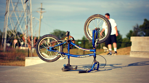 little skatepark bike