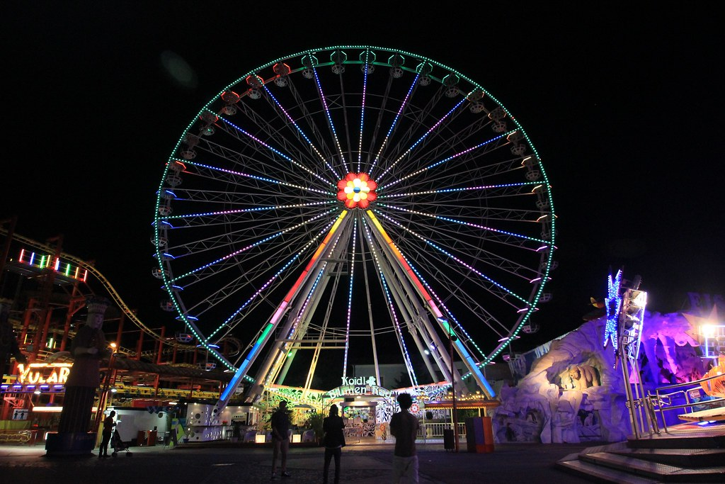 Prater Amusement Park- Vienna, Austria