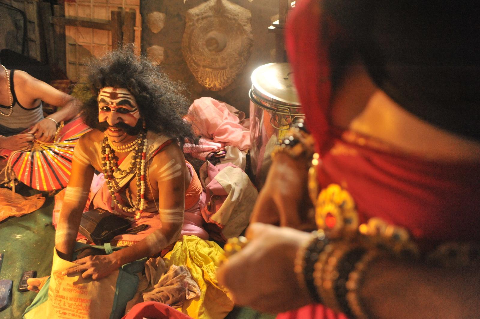 Bhima, ready, beyond belief! Yakshagana, Kichaka Vadha