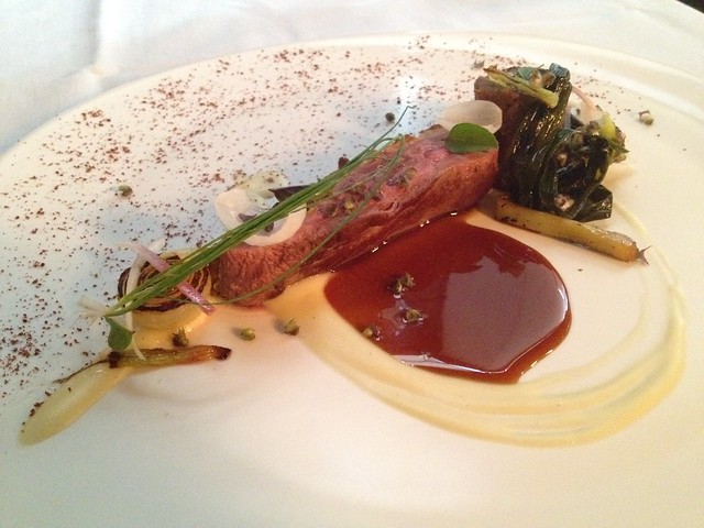 Duck roasted on the bone - McCrady's Restaurant