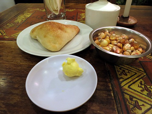 Bread, butter & cancha.