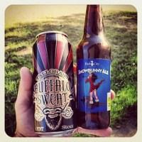 Buffalo Sweat and Snowbunny Ale