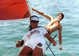 Zebra Dun in Abaco 1989