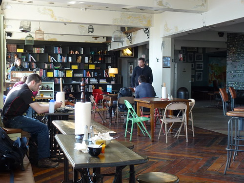 Common area, Kex Hostel