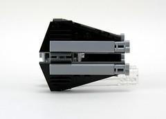 9676 TIE Interceptor & Death Star - Side