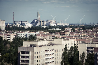 View over Pripyat
