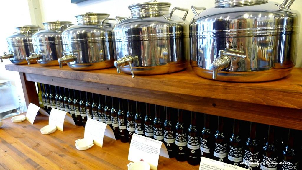 Vancouver OLIVE OIL company - tasting room 00006