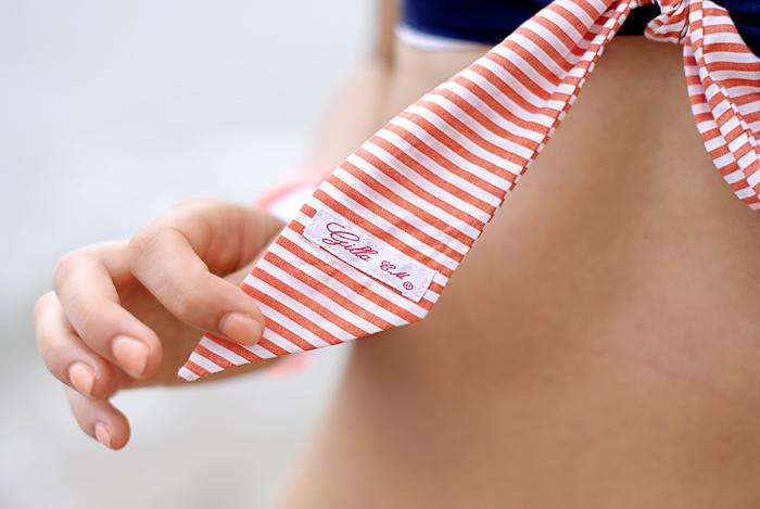 Stripes on my bikini