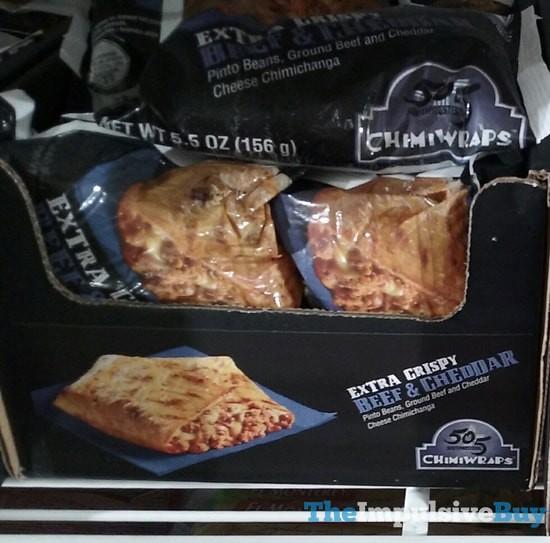 505 Southwestern Extra Crispy Beef & Cheddar Chimiwraps