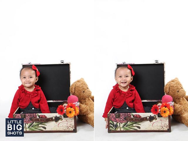 Mia Qisya Alisya | Toddler Studio Portraiture