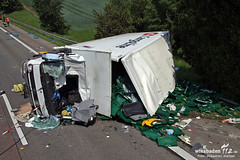 Tödlicher Lkw-Unfall A3 Bad Camberg/Limburg 23.05.12