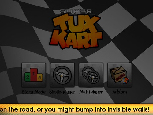 SuperTuxKart Invisible Walls Hint Mockup