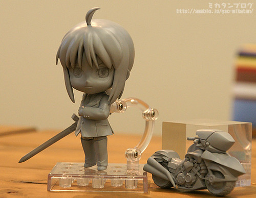 The prototype of Nendoroid Saber: Zero version