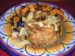 Amish stuffed pork chop
