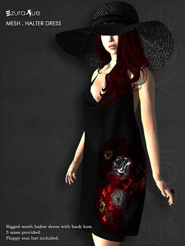 ezura + Halter Dress with sun hat for Hope for Emilia