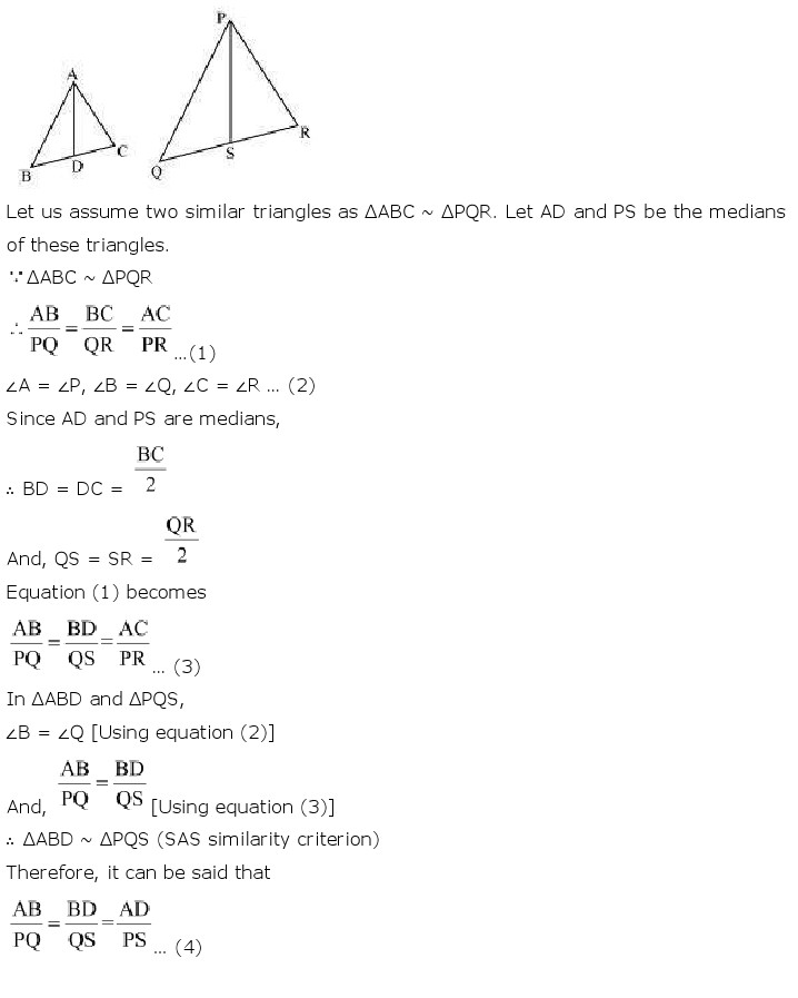 NCERT Solutions For Class 10th Maths Chapter 6 Triangles PDF Download 2018-19 freehomedelivery.net