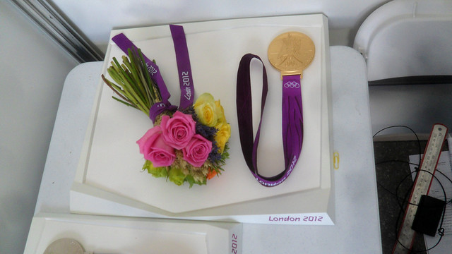 Daniele Molmenti's Gold Medal