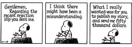 Snoopy - the author