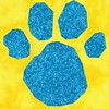 Blue's Clues Paw Print