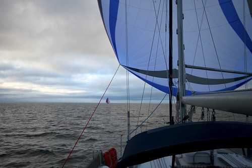 Neste dagt setter vi seil for Isle of Man