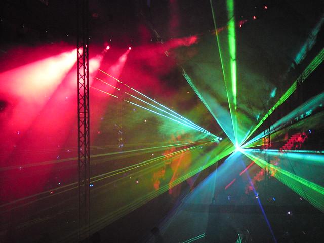Лазерное шоу // Lazer show