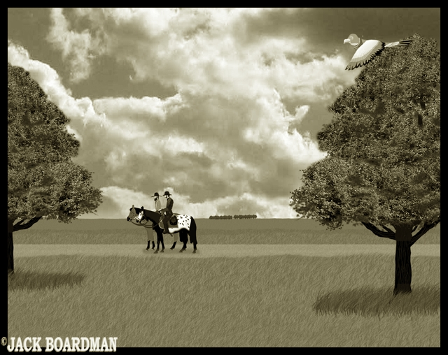 Kidd & McLintock maintained a slow pace ©2012 Jack Boardman