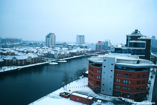 snow in manchester