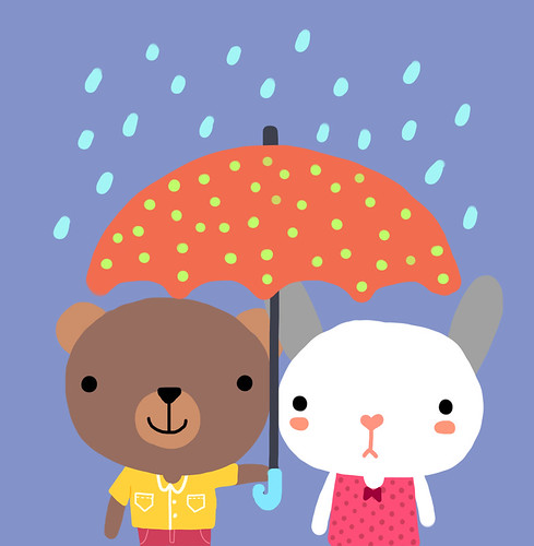 rain together