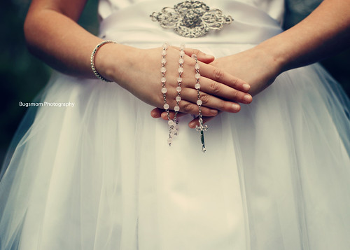 communion hands