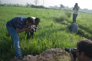 SIA Photogs in action in a Field Trip