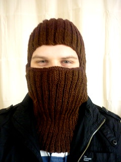 Balaclava for a scooter