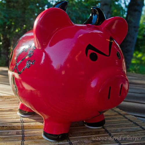07.26.2012 :: 366/208 ...::... Devilish Piggy by Echo9er