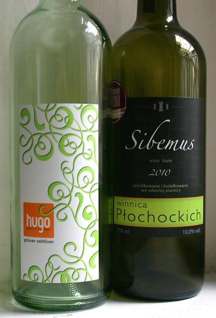 Markus Huber Veltliner Hugo 2011 vs Winnica Płochockich Sibemus 2010