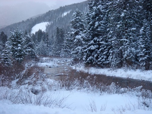 River at Keystone Resort, Colorado by Webminkette