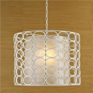 oval ring drum pendant Shades of Light