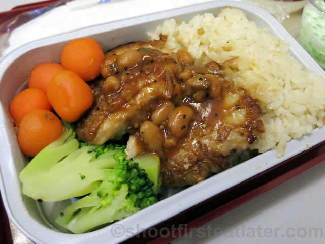 Philippine Airlines Economy Meal Mnl-Tpe-Mnl-007