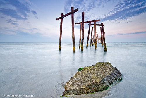 Broken Pier at Ocean City